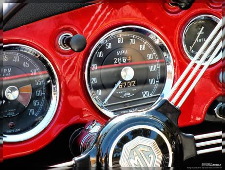 Classic cars - Morris Garages MGA