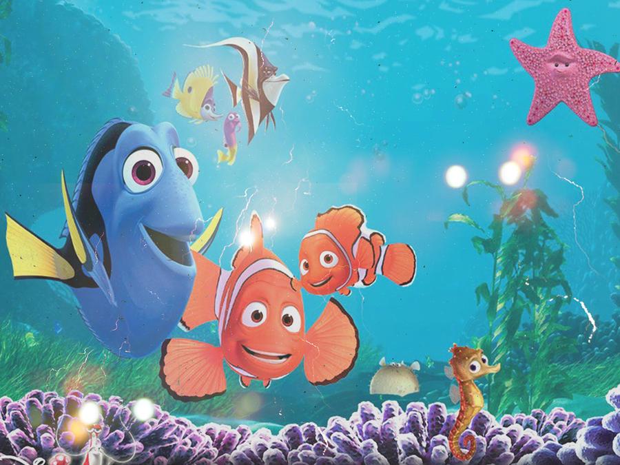 Finding Nemo D Animasi Hd Wallpaper: Finding Nemo Wallpaper By BreeBeeDesigns On DeviantArt