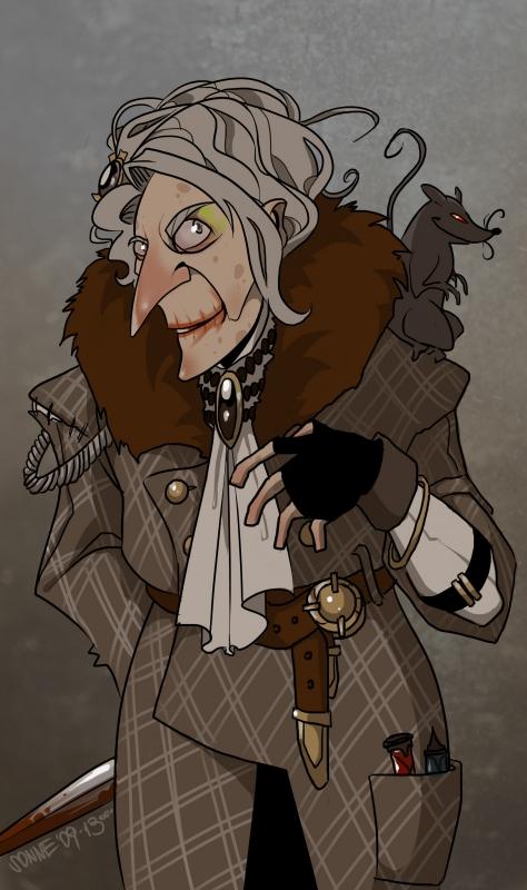 Granny Rags by mr-zlobsky