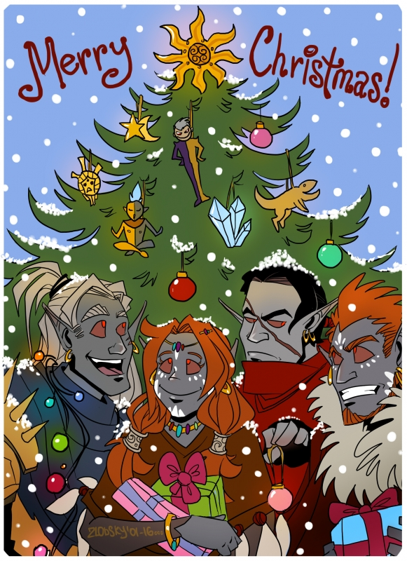 Merry Christmas by mr-zlobsky