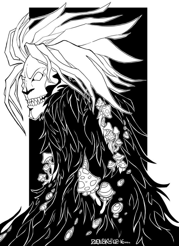 Swamp beast by mr-zlobsky
