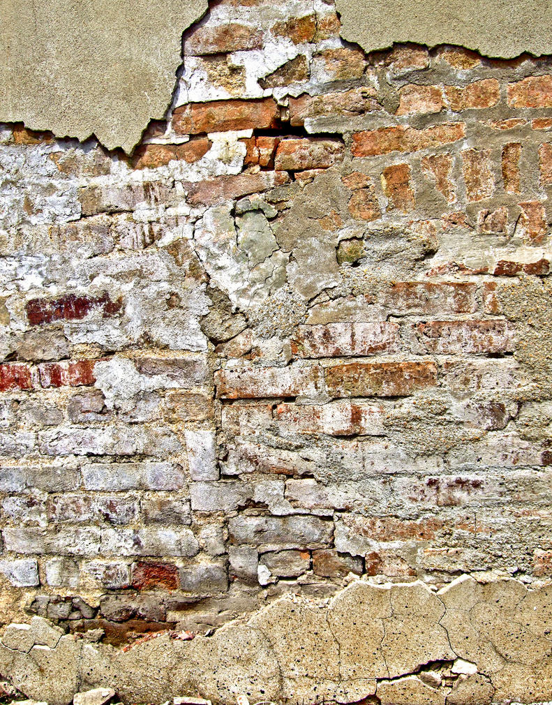 Exposed Brick III by Baq-Stock on DeviantArt