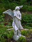 Angel Statue III by Baq-Stock