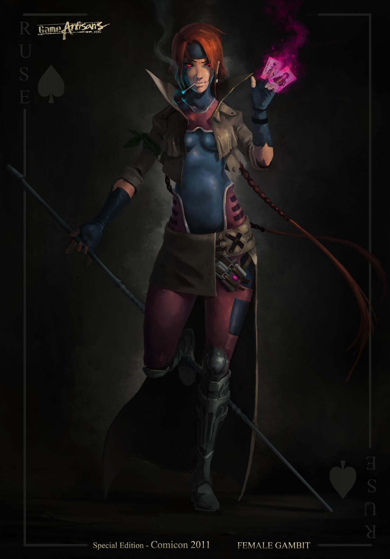 Female Gambit 'Ruse' by EleosInteractive