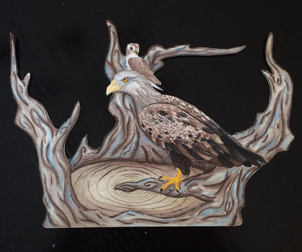 Vedrfolnir And Eagle By MadWoodDuck On DeviantArt