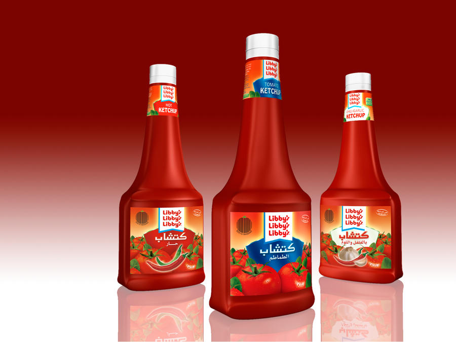 Ketchup Libby's by KATOK