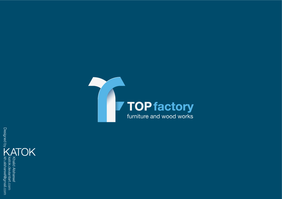 TOP FACTORY LOGO by KATOK