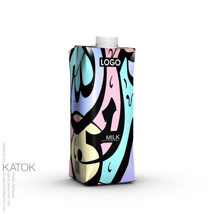 Milk Packaging TETRA PAK by KATOK