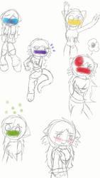 Cletton Emotions Sketch (Incomplete Draw) by Vanrandomcoolrov