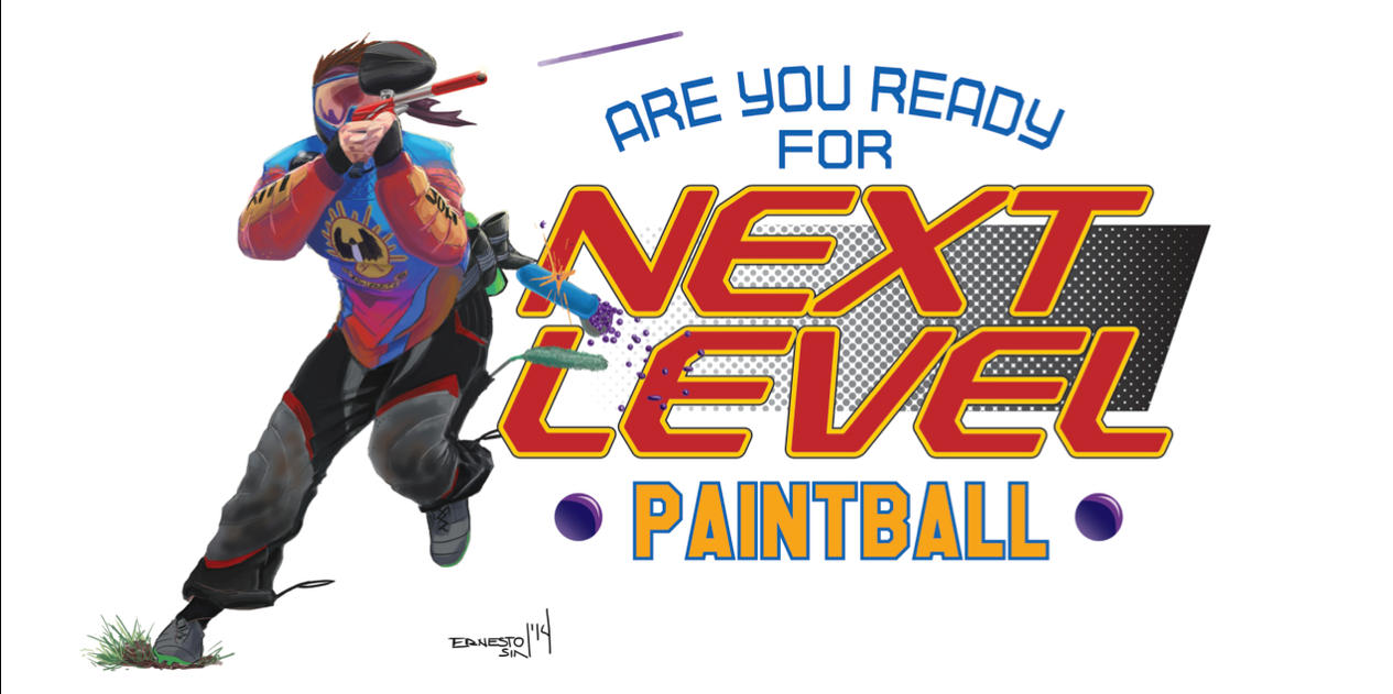 Paintball Commission for Australia by ernesin149