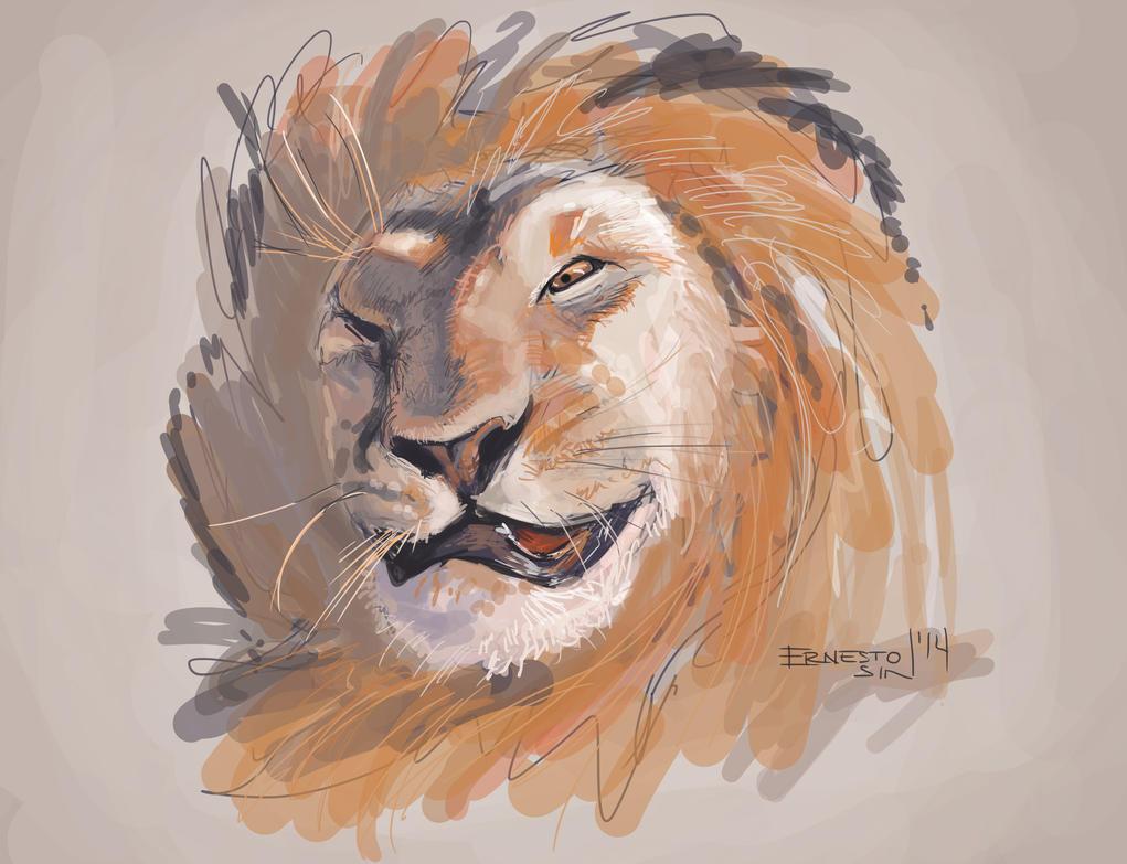 Big Lion by ernesin149