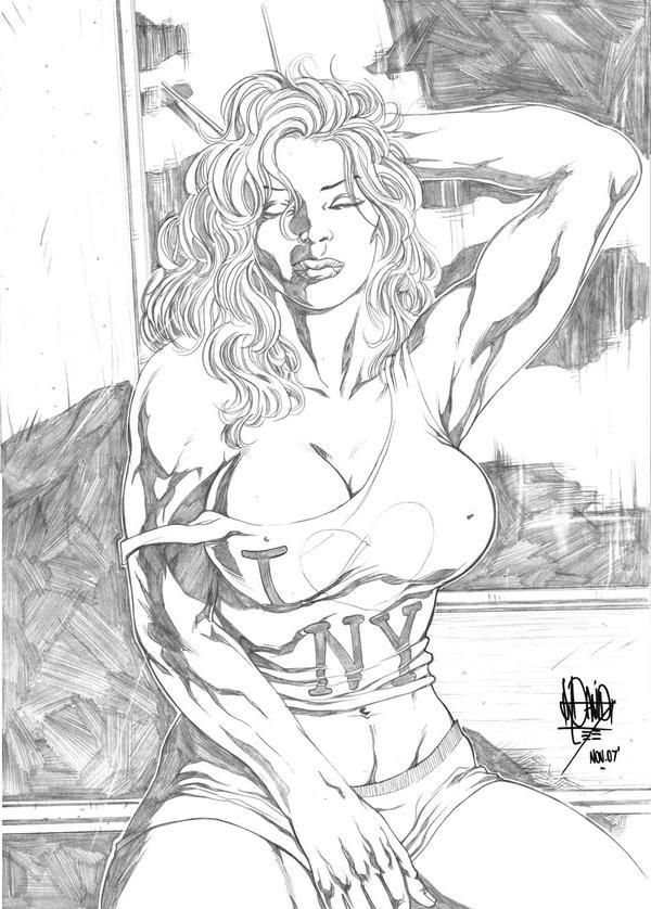 She-Hulk I Love NY by jdavidlee1979