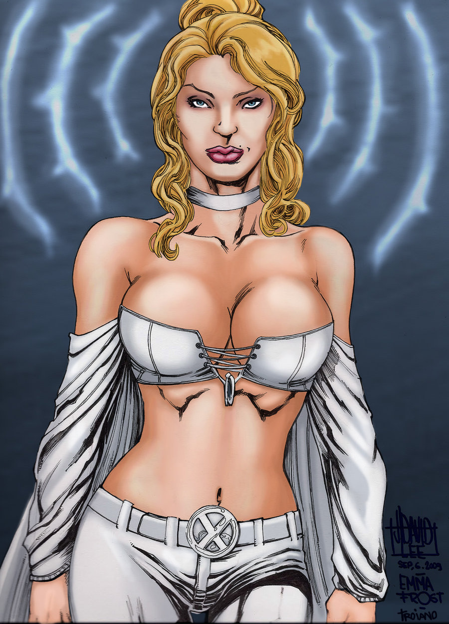 comics girls emma frost - photo #35