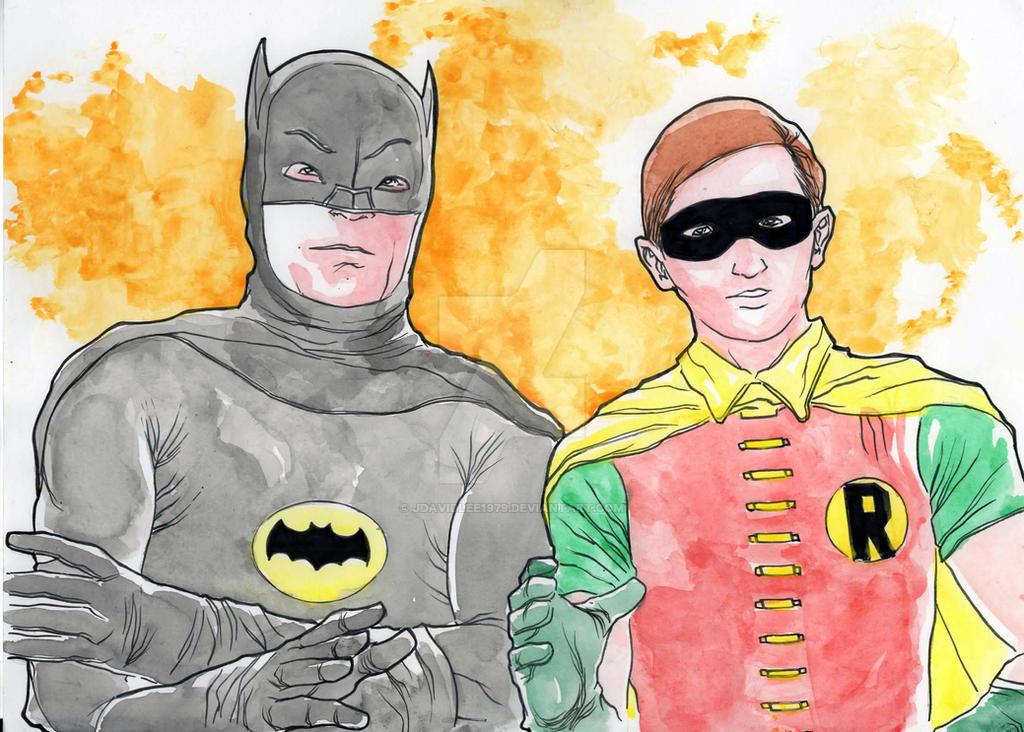 BATMAN AND ROBIN 1966 by jdavidlee1979