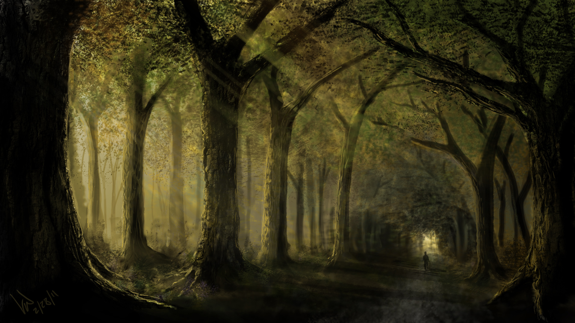wallpapers art painting - photo #2