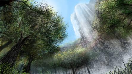 Waterfall Clearing