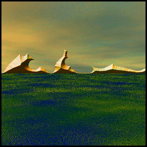surreal landscape by DarsamNorogh