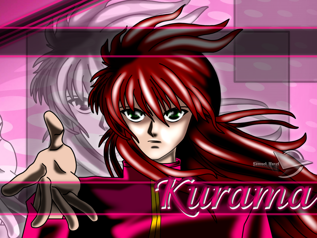 Kurama&#039s wallpaper by ~SamuelHavel on deviantART