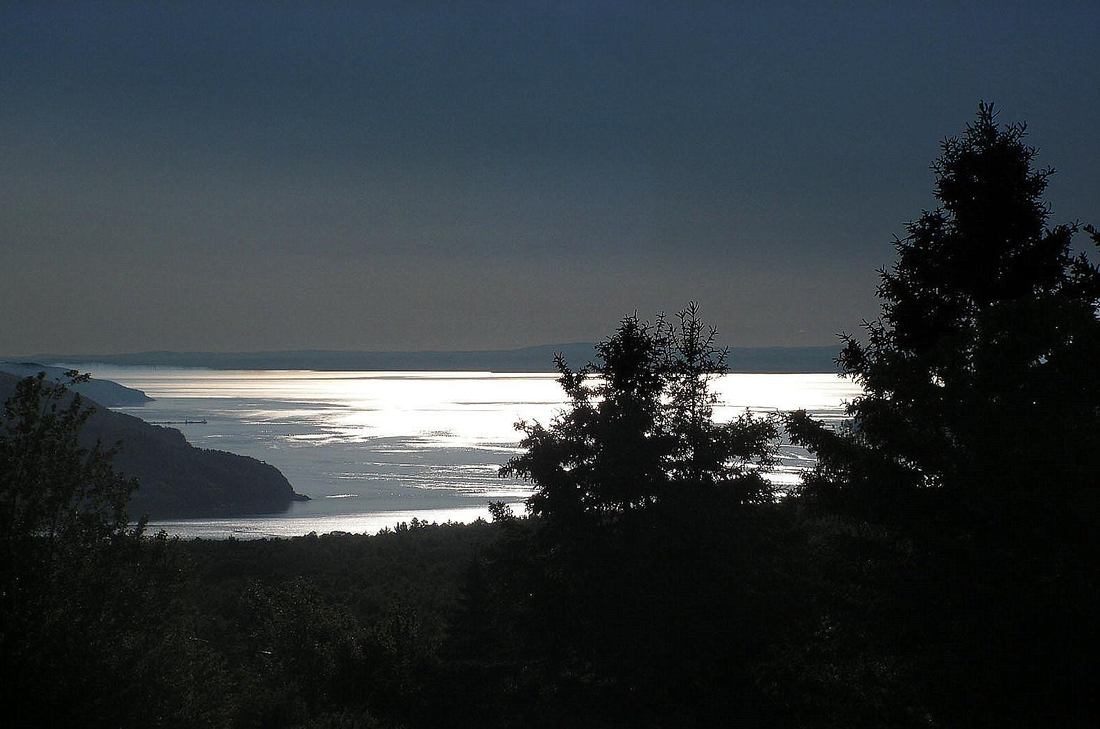 Silver Water at Sunrise by JocelyneR