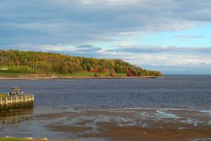A Bay at Low Tide by JocelyneR