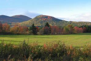 Country Scenery in Fall by JocelyneR