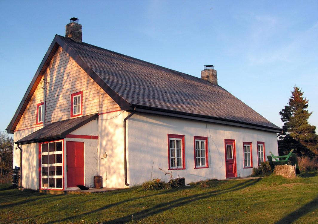 Ancestor's House - 300 Years Old by JocelyneR