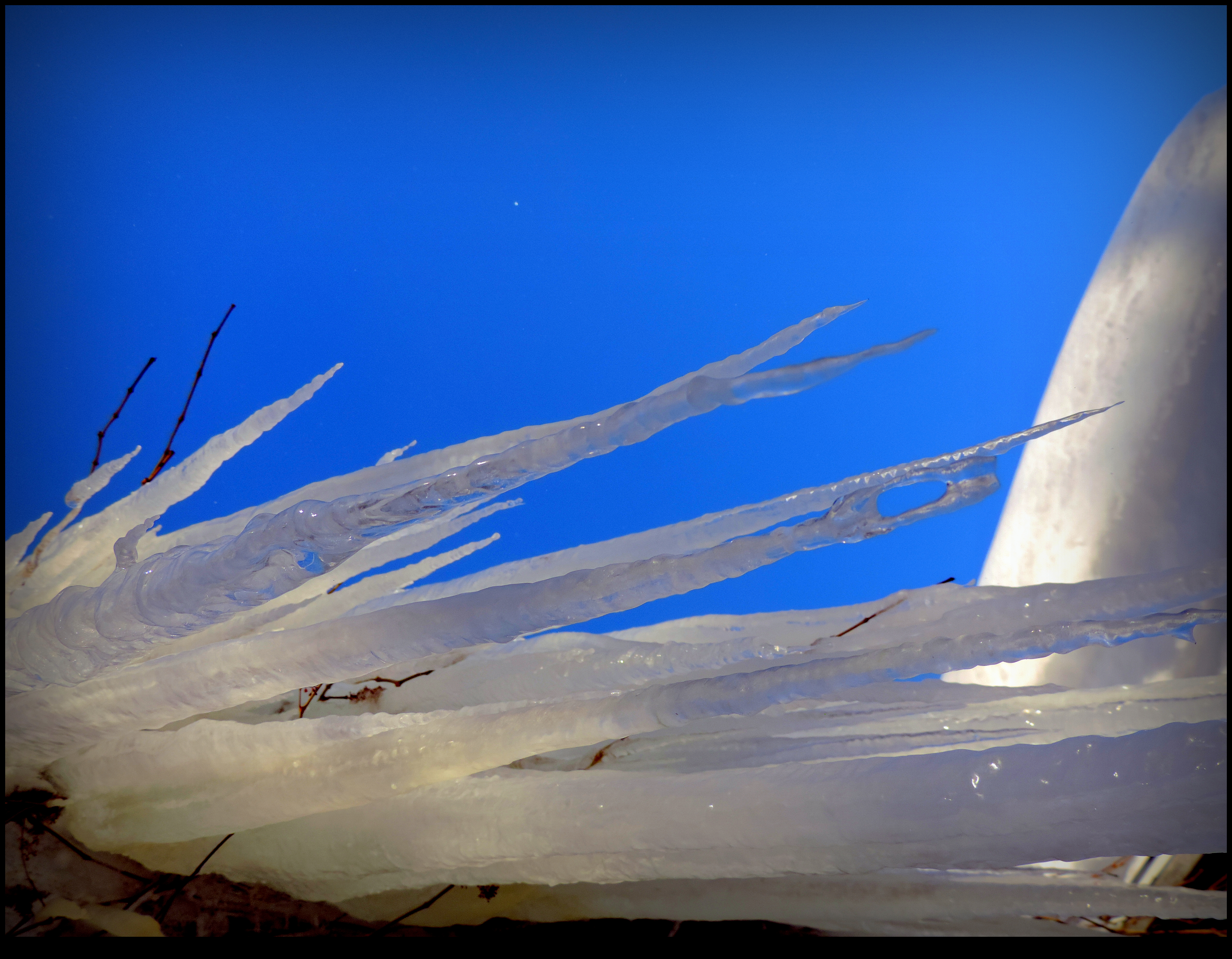 Icicles From Below by JocelyneR