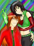 AU- Evil Duo (Colored)