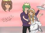 .:RS!AU:. Meeting The Pretty Servant Girl~