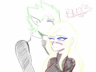 .:Sketch_RQ:. Beast Boy x Terra~