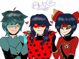 Viperion x Ladybug x Ryuko~