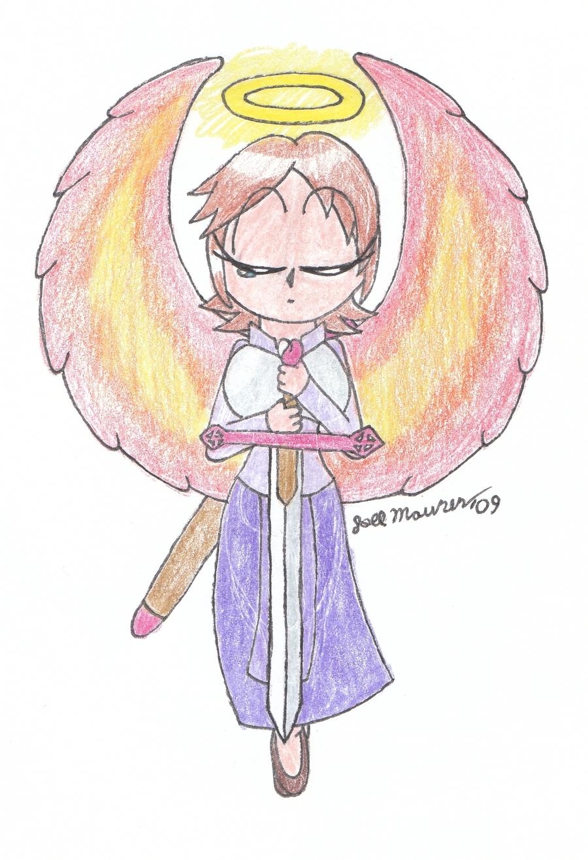 Mothers Guardian Angel by FireballKoopa on deviantART