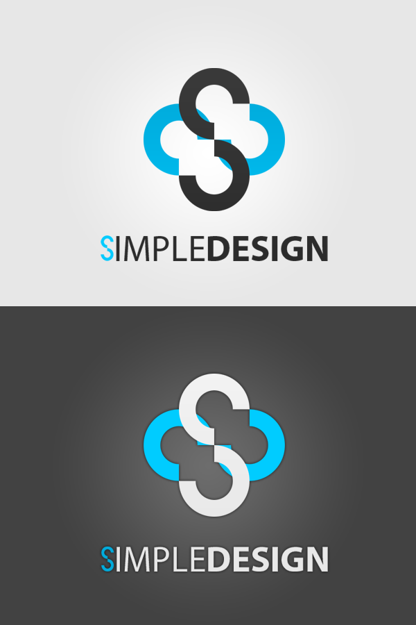 Simple design logo by endrjusdr on deviantart for Easy way to create a logo