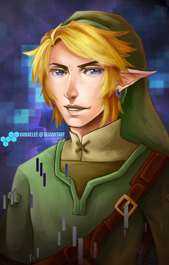 Link - Legend of Zelda by vaniaelee