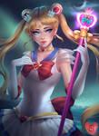 Sailor Moon - coloring contest entry