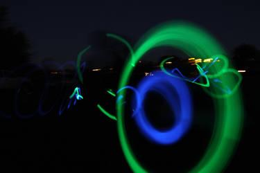 Fun with glow sticks 2 by thememory666