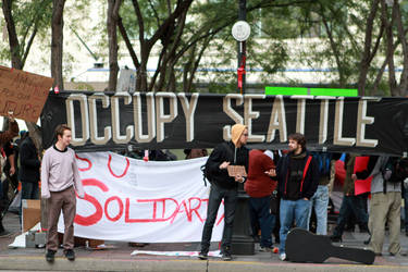 Occupy Seattle by thememory666