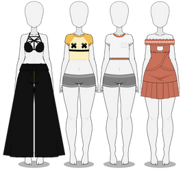clothing exports by bunnicake