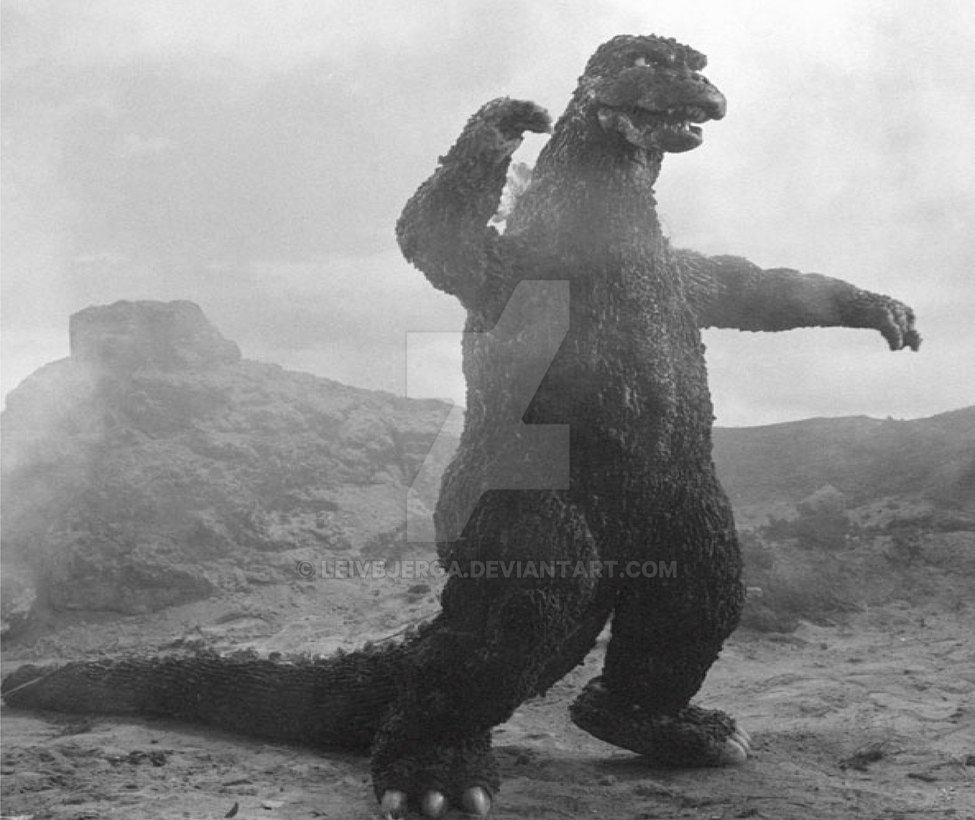 Godzilla 1974 by leivbjerga on DeviantArt