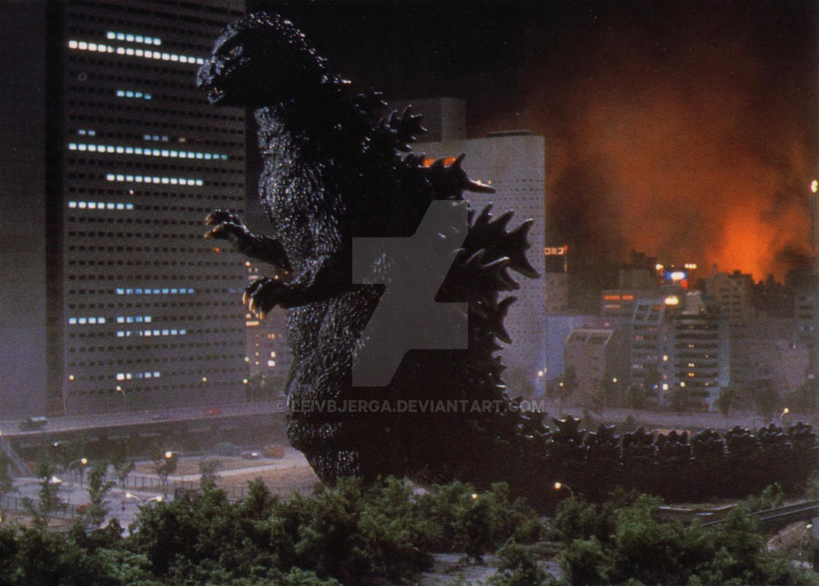 Godzilla 1984/1985 by leivbjerga on DeviantArt