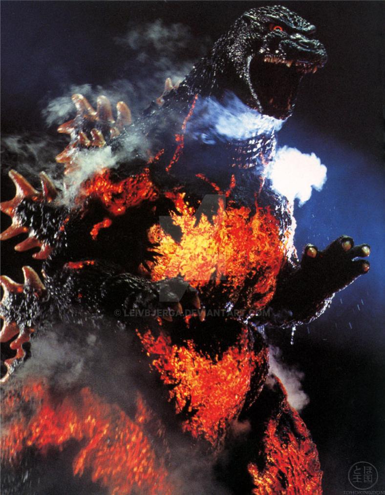 Godzilla 1995 A.K.A Burning Godzilla by leivbjerga on ...