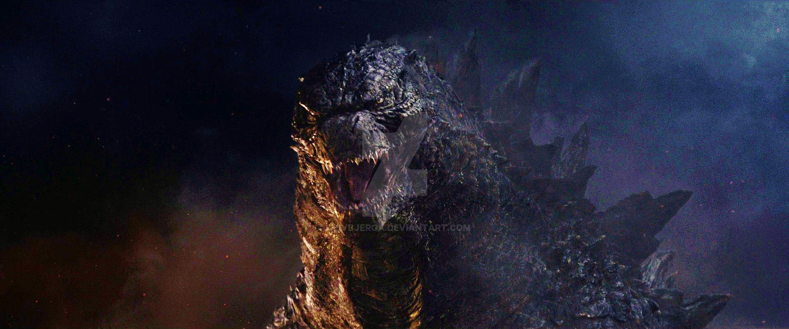 Godzilla 2014/2020 by leivbjerga on DeviantArt