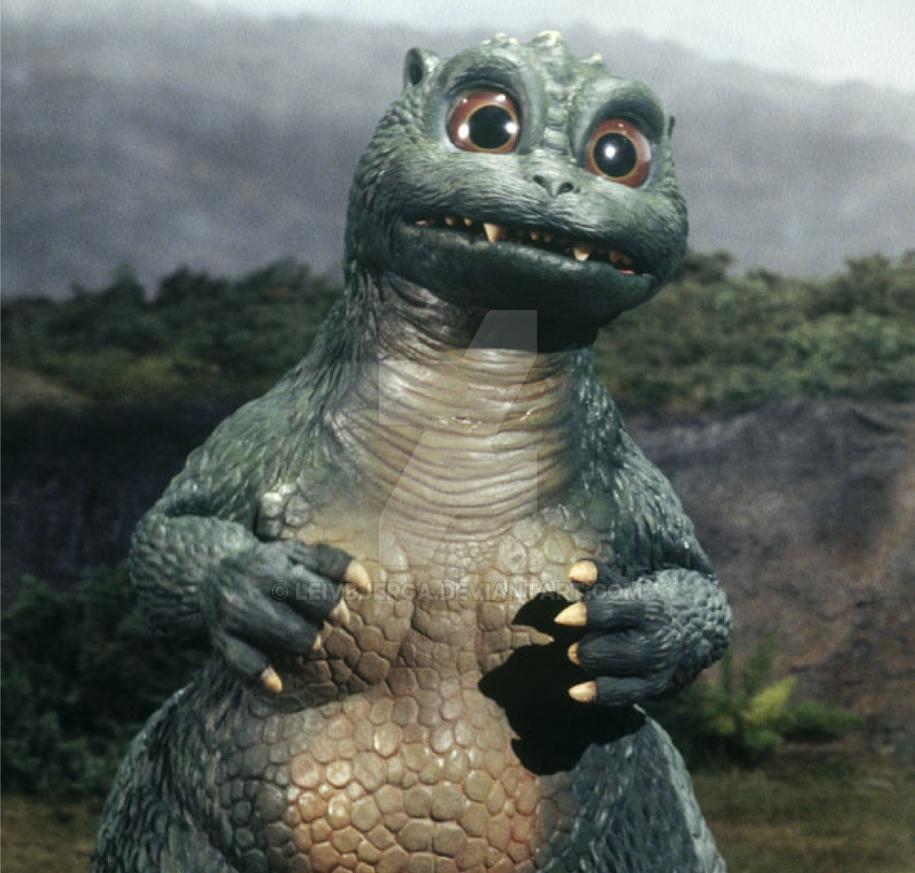 Little Godzilla Jr Godzilla Vs Spacegodzilla By