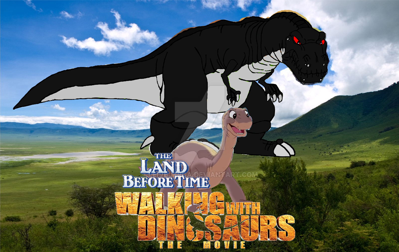 Land Before Time Walking With Dinosaurs The Movie by