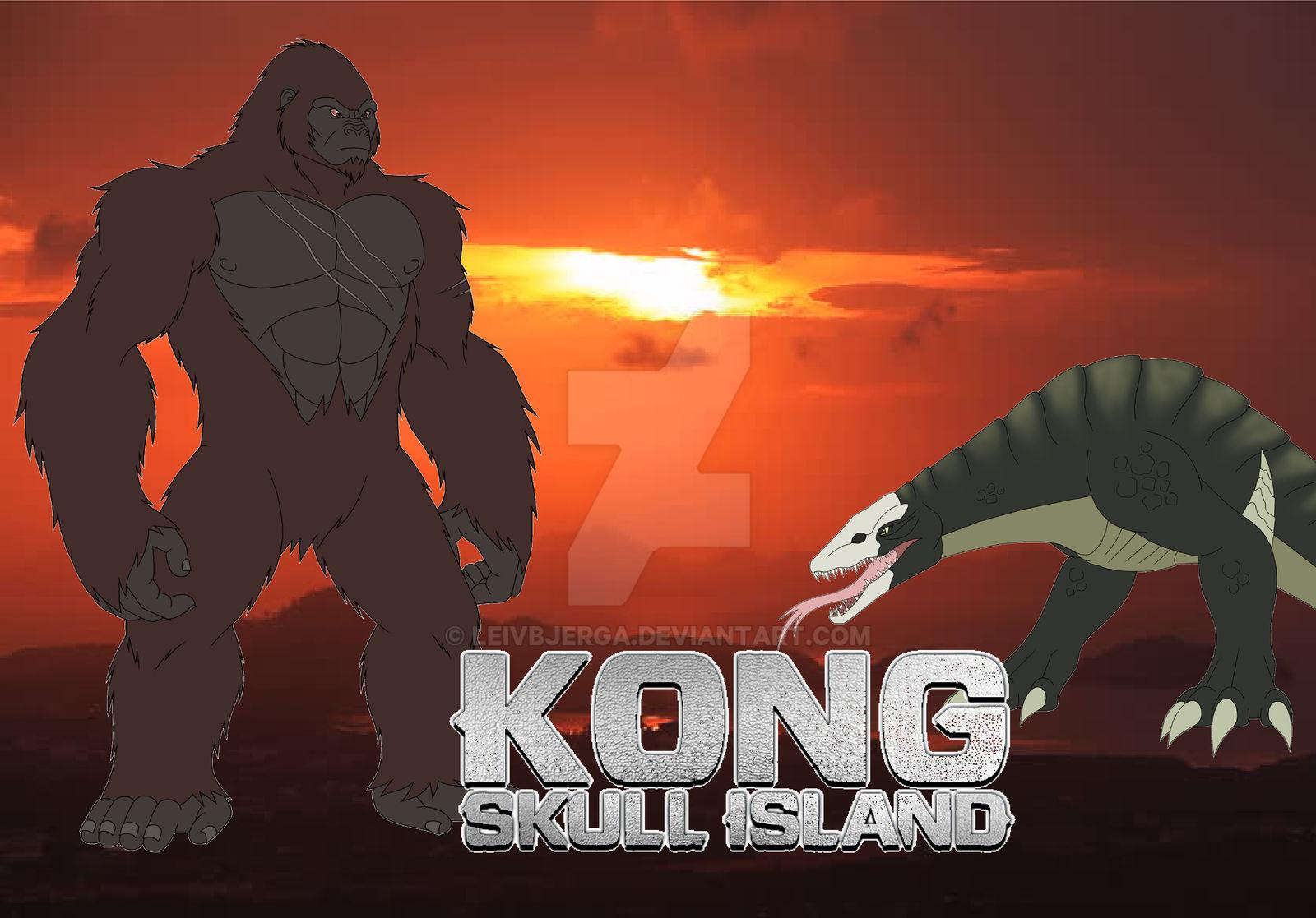 Kong Skull Island 2017 Poster By Leivbjerga On Deviantart
