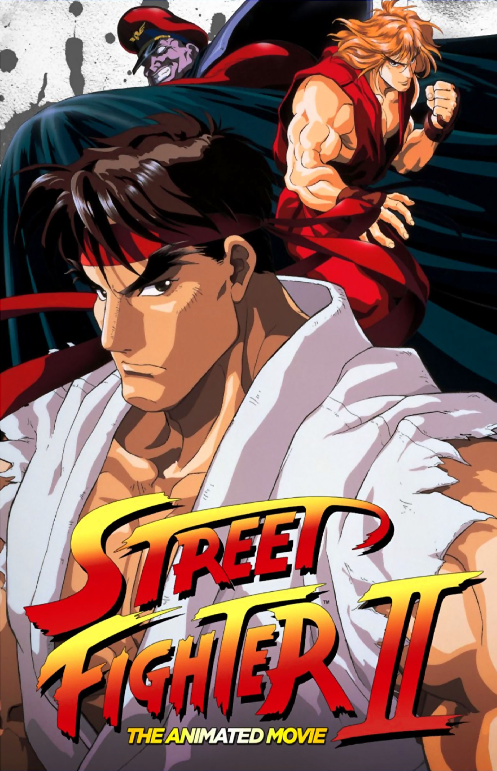 Street Fighter Ii The Animated Movie Poster By Leivbjerga On