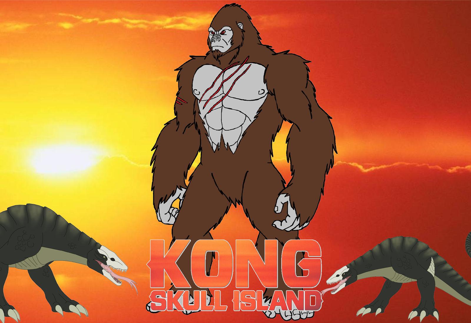 Kong Skull Island 2017 Film By Leivbjerga On Deviantart