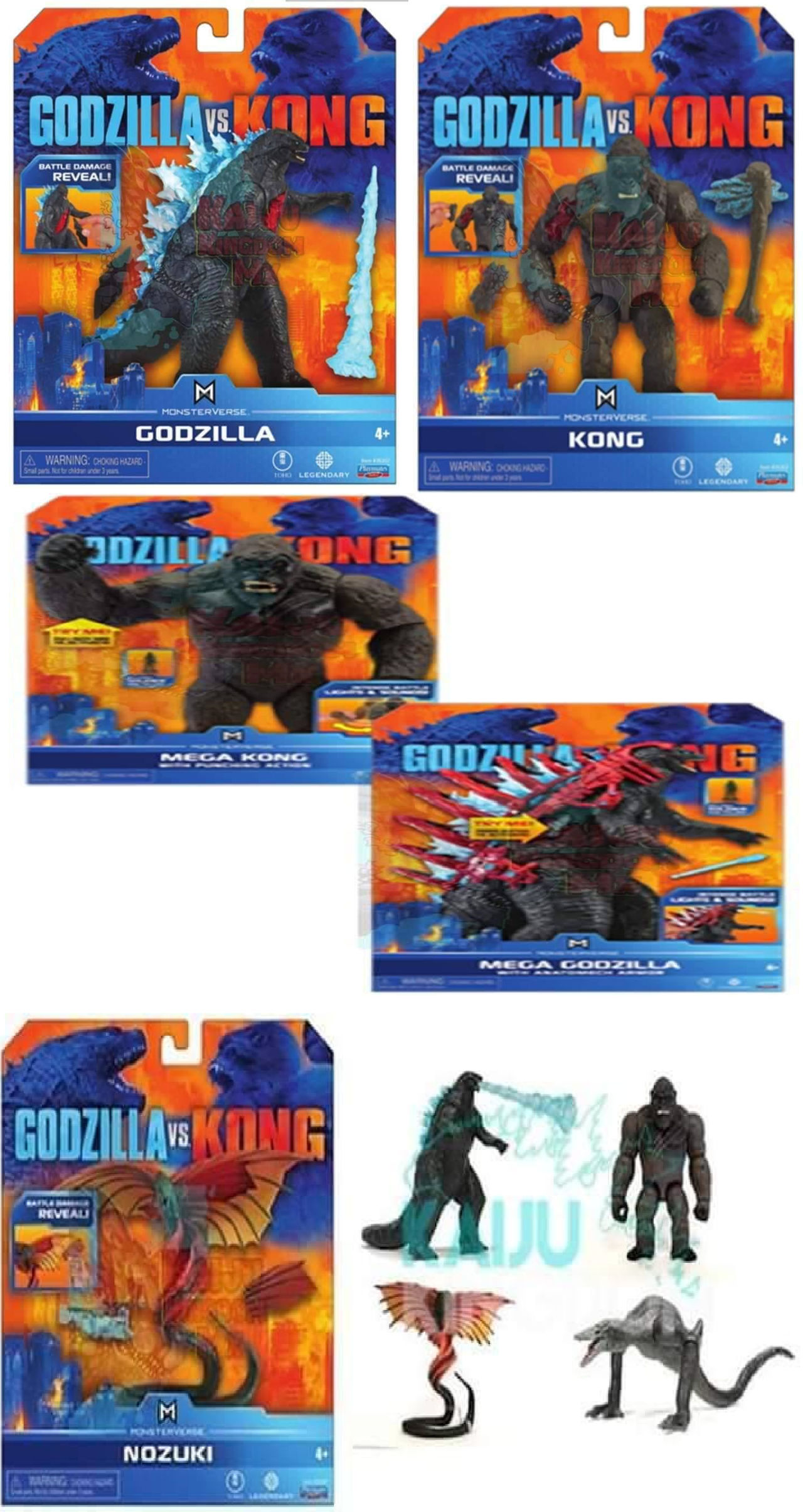 Godzilla Vs Kong 2020 Toys By Leivbjerga On Deviantart