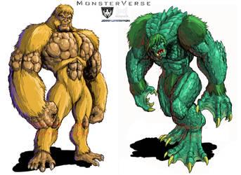 Gargantuas (Titanus Gargantuas) MonsterVerse