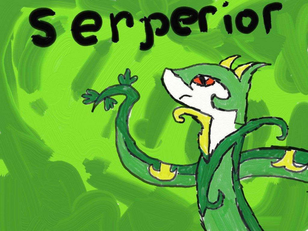 Day 3 Fav grass type Serperior! by Gigiluv11